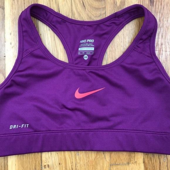 15d7b1f0 Nike purple sports bra